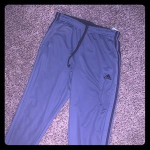 Adidas joggers like new worn once size large
